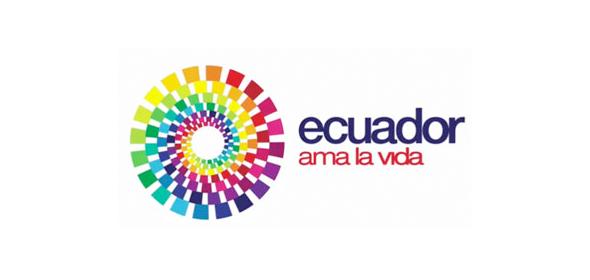 logo de la marca país Ecuador ama la vida