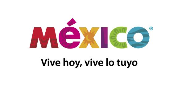 logo de la marca país México vive hoy, vive lo tuyo