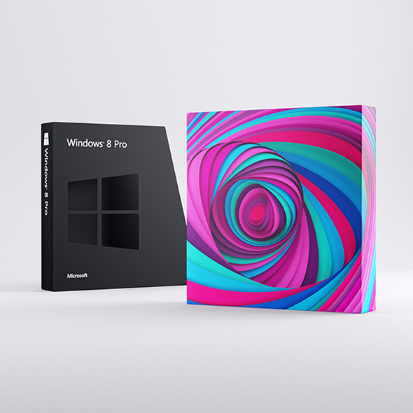 packaging windows 8 imagen