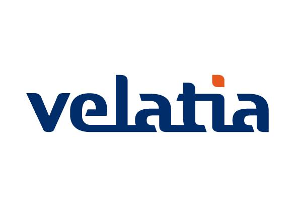 imagen del logotipo de velatia empresa del grupo Ormazabal