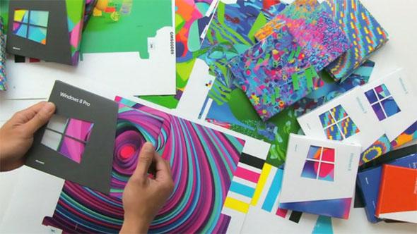 imagen de colores de windows 8