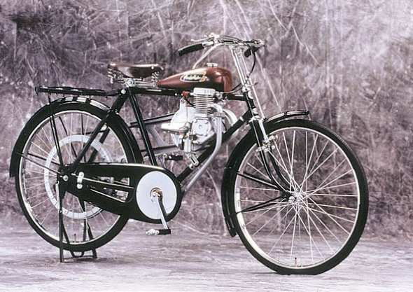imagen de bici honda antigua