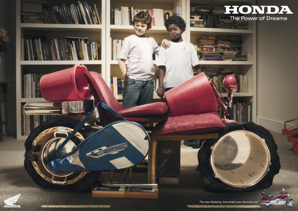 publicidad honda actual the power of dreams