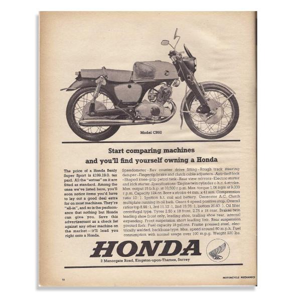 imagen de superbike honda en periodico