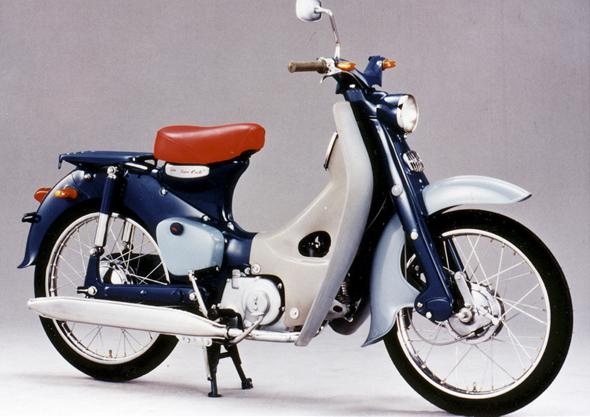 imagen motocicleta de honda C-100