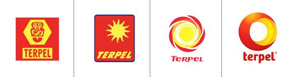 historia del logo de terpel, evolución del diseño del logotipo