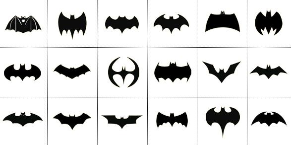 historia y cambios del logo de Batman en las películas