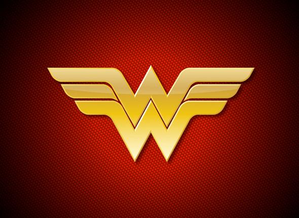 imagen del logo de wonder woman