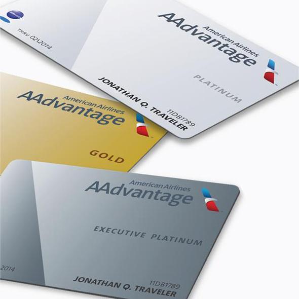imagen de tarjetas gold and platinum de american airlines