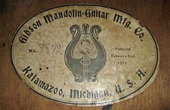 documentación de la marca gibson, creador y fecha de creación de la marca