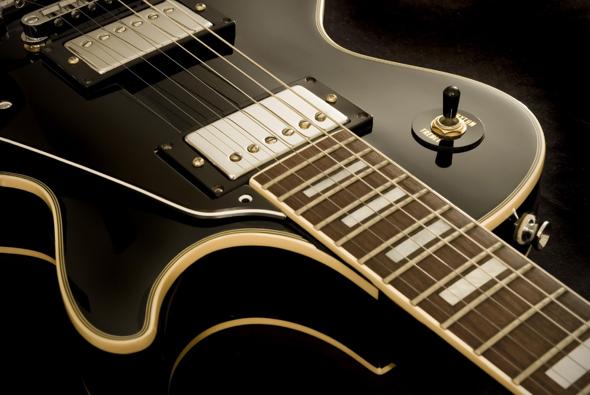 Gibson imagen de guitarra eléctrica de la marca