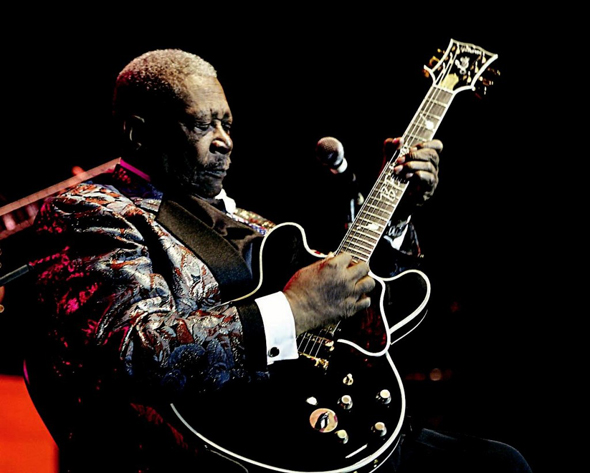 Gibson guitarra tocada por BB King