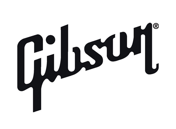 the gibson logo marca de guitarras