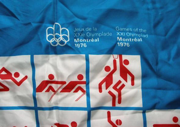 diseño de indentidad creativa de Montreal 76 otl aicher