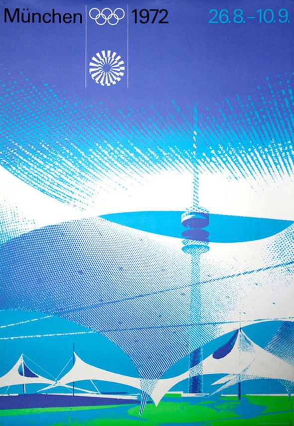 publicida otl aicher diseño Munich 1972