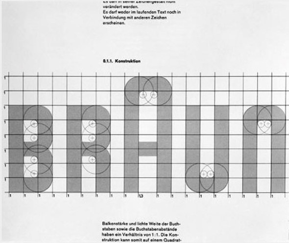 logotipo Braun revision 1954