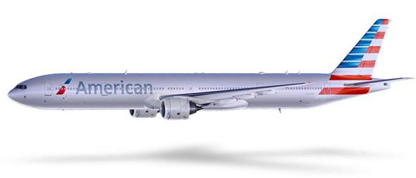 american airlines imagen de avión  prototipo