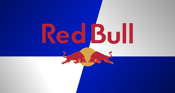 imagen del logo de la bebida RedBull - Brandemia_