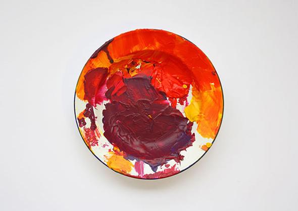 pintura de colores inspirada en la opera de gales