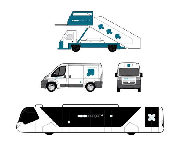 brno aeropuerto diseño en medios de tranporte