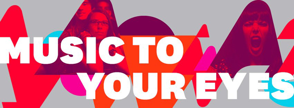 vevo slogan music to your eyes