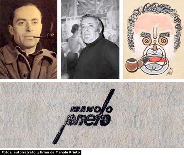 Fotos del Manuel Prieto creador del logo del Toro de Osborne