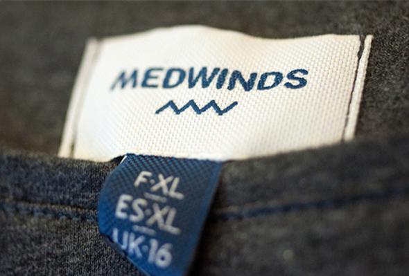 MedWinds diseño de etiqueta de marca de ropa