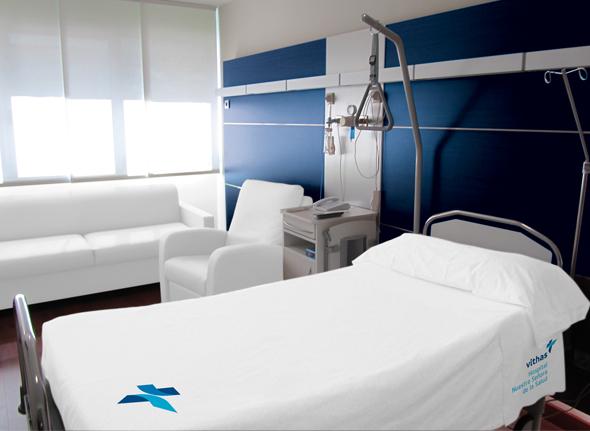 imagen de habitación de hospital del grupo Vithas