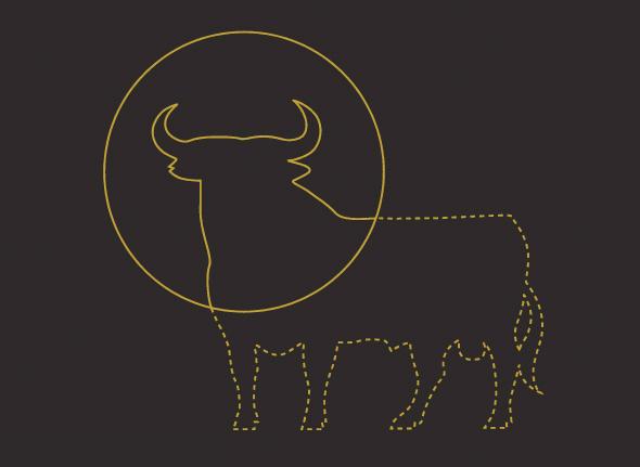 nuevo color del logo del Toro de Osborne rediseño