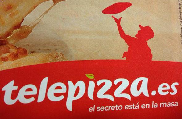 telepizza publicidad imagen pizzero