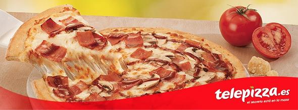 Telepizza imagen de pizza nueva imagen de marca
