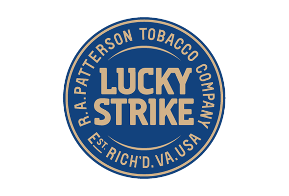 logotipo lucky strike blue