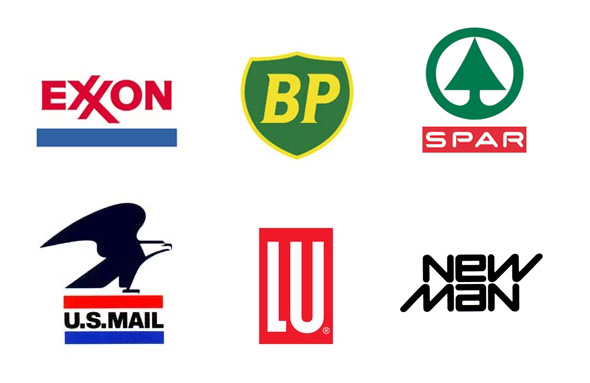 Raymond Loewy diseño de logos BP Exxon US Mail SPAR LU
