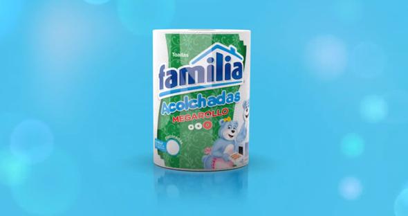 imagen de papel higienico de la marca famila especializada en productos de aseo