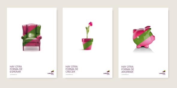 slogan y publicidad de laboral kutxa