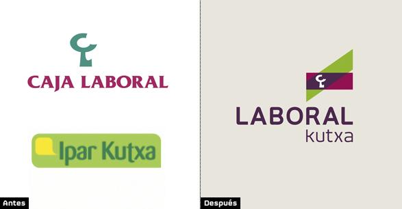 comparacion laboral kutxa logo fusión de caja laboral y kutxa imágenes