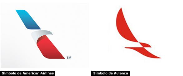 Símbolo de la fusión de American Airlines y Avianca