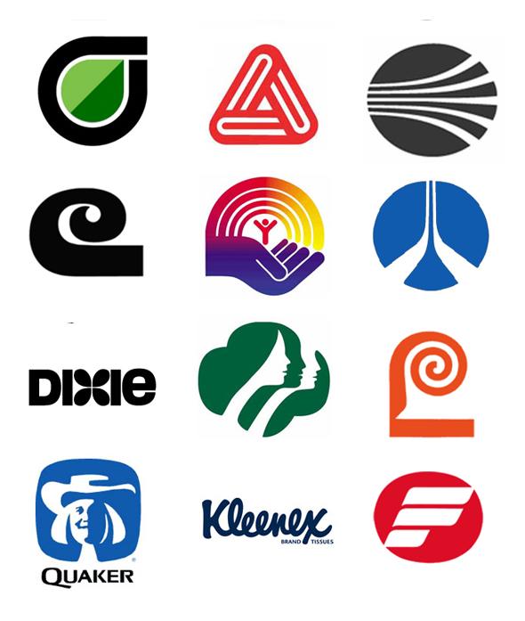 Logos diseñados por SaulBass