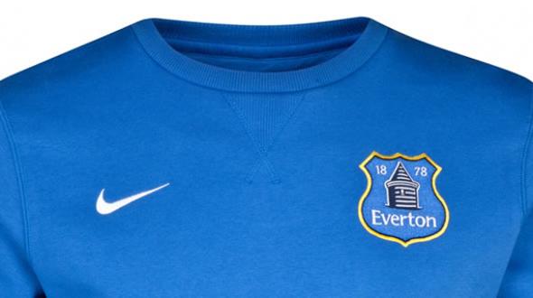 imagen del a equipación del Everton