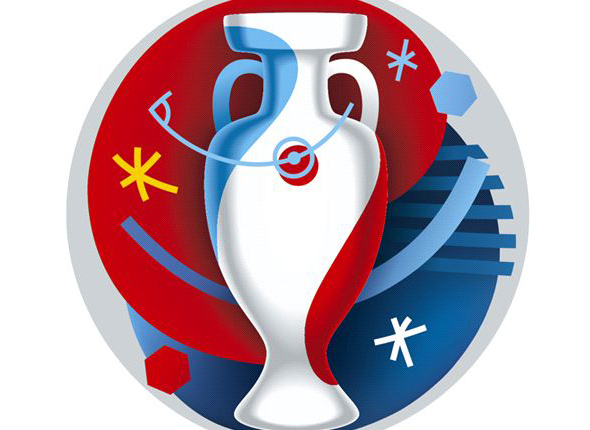 logotipo eurocopa de francia 2016