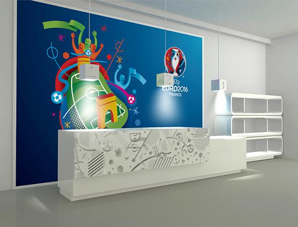 imagen stand eurocopa 2016 francia