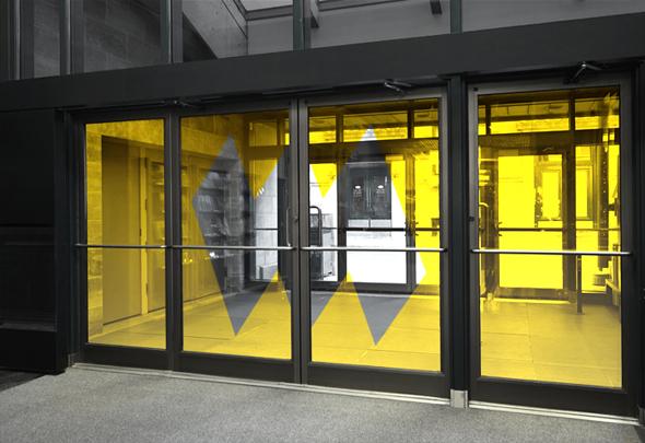 imagen de la puerta de entrada del museo de la civilizacion de Quebec
