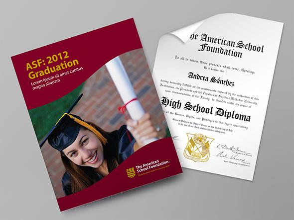 Catalogo y diploma