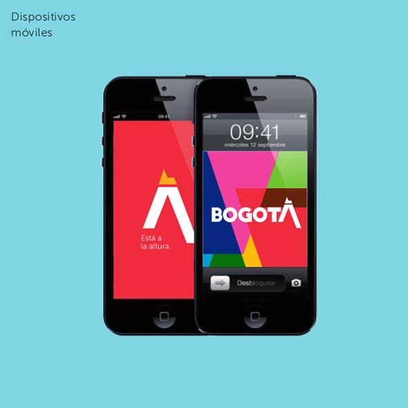 imagen de la app de bogotá en smartphones