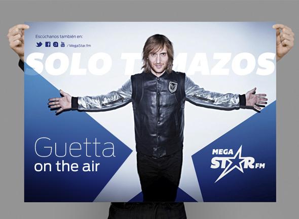 Guetta en mega sart radio de solo temazos