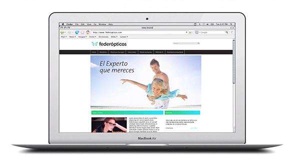 imagen diseño web de v