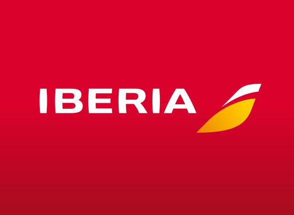 logo iberia principal cambio de colores nueva identidad corporativa