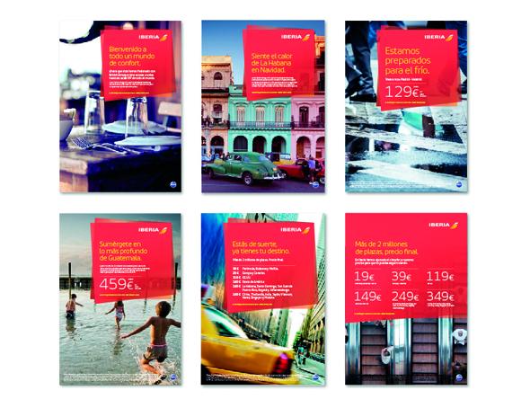 formatos de publicidad iberia nueva marca