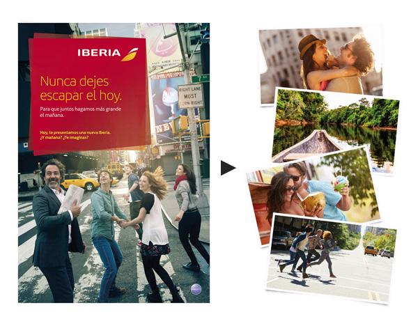 campaña publicidad interbrand iberia cambio de imagen