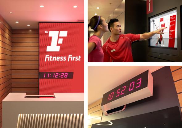 interior gimnasio fitness first rediseño de la marca